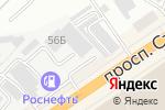 Схема проезда до компании ДЮЙМ в Барнауле