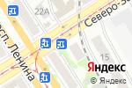 Схема проезда до компании Аня в Барнауле