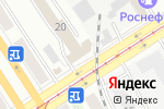 Схема проезда до компании Буревестник в Барнауле