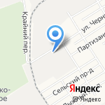 Шуйские ситцы на карте Барнаула