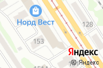 Схема проезда до компании Европейская обувь в Барнауле
