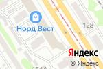 Схема проезда до компании Сафари в Барнауле