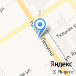 Адвокатский кабинет Щербаковой Н.В. на карте Барнаула