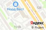 Схема проезда до компании Магазин парфюмерии в Барнауле