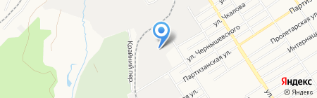 Универсал-Комплект на карте Барнаула