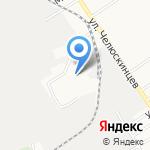 Мировые судьи Железнодорожного района на карте Барнаула