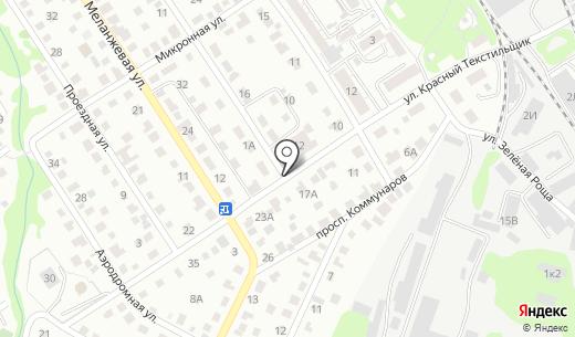 Катюша. Схема проезда в Барнауле