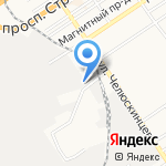 БИЗНЕС ФОРЕСТ на карте Барнаула