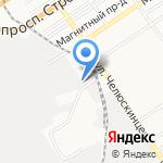 Автотерминал на карте Барнаула