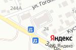 Схема проезда до компании Вигор в Барнауле