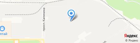СибирьСтройСервис на карте Барнаула