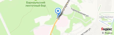Comepay на карте Барнаула