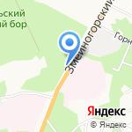 Марбол на карте Барнаула