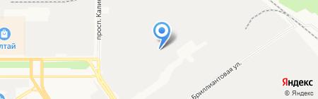 Служба заказа услуг автовышки на карте Барнаула