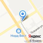 Шашлычная на карте Барнаула
