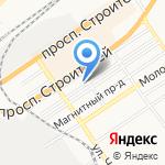 Альфаком на карте Барнаула