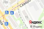 Схема проезда до компании А-экспертиза в Барнауле