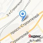 Служба авторазбора Волга на карте Барнаула