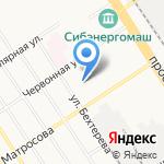 Служба вневедомственной охраны на карте Барнаула