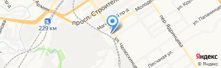 Фруктовый приз на карте Барнаула