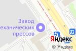Схема проезда до компании Автограф Групп в Барнауле