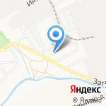 Орион Экспресс на карте Барнаула