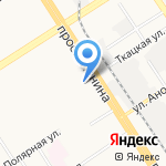 Храм во имя преподобного Антония Киево-Печерского на карте Барнаула