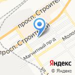 Профи сервис плюс на карте Барнаула