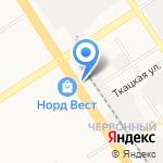 Бон Жур на карте Барнаула