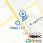 Вестфалика на карте Барнаула