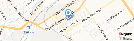 Инженер на карте Барнаула