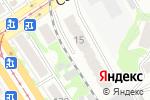 Схема проезда до компании РосТовСтрой в Барнауле