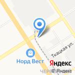 Центр холода на карте Барнаула