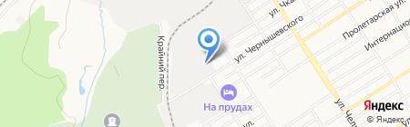 Мир моторов на карте Барнаула
