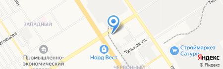 Автокондиционеры на карте Барнаула