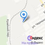 Авто Индустрия на карте Барнаула