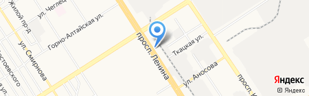 THERAPY на карте Барнаула