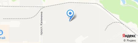 АВМ-Бетон на карте Барнаула