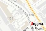 Схема проезда до компании Киоск фастфудной продукции в Барнауле