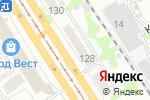 Схема проезда до компании THERAPY в Барнауле