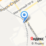 Центр миграционного аутсорсинга на карте Барнаула