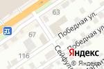 Схема проезда до компании Правовой консультант в Барнауле