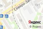 Схема проезда до компании Оценочная фирма в Барнауле
