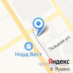 Моя иномарка на карте Барнаула