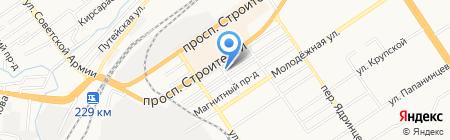 Центр доктора Бубновского на карте Барнаула