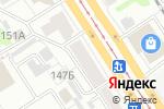 Схема проезда до компании BROADWAY в Барнауле