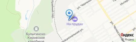Альциона на карте Барнаула