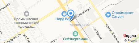 Moda Donna на карте Барнаула