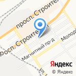 Алтайское Полюшко на карте Барнаула