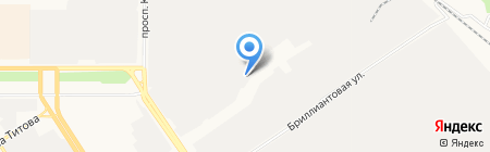 Технопривод на карте Барнаула